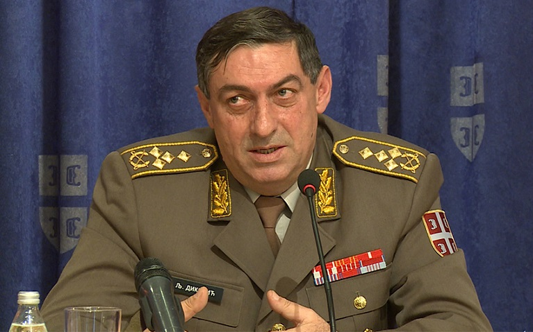 US refuses visa for Serbia's army chief of staff